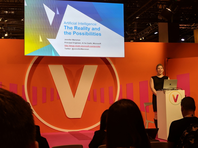 Artificial Intelligence: The Reality and the Possibilities by Microsoft @ VivaTech 2018